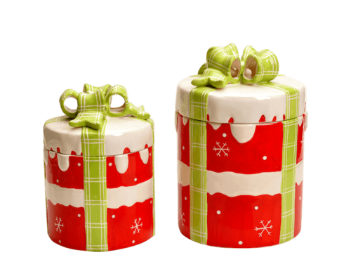 Christmas Candy Canister