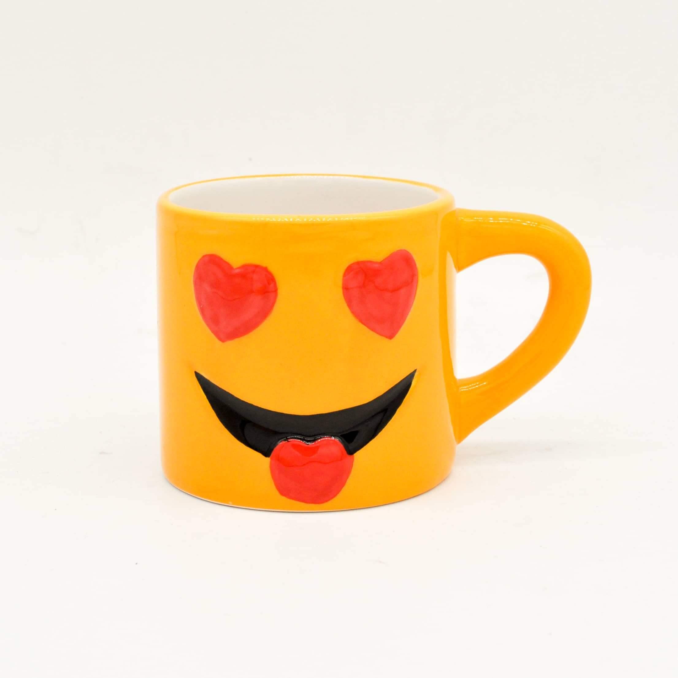 8oz Emoji Coffee Mug Yongchuan Ceramics Co Ltd