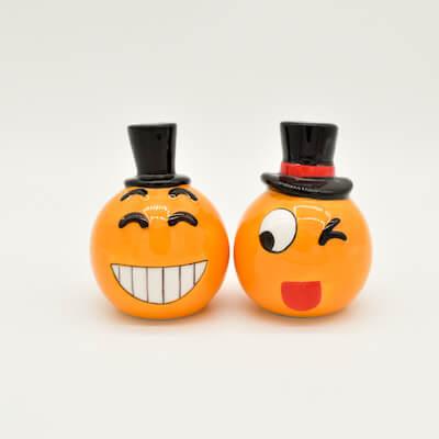 Emoji S Amp P Shaker Yongchuan Ceramics Co Ltd