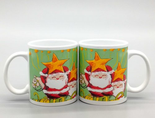 11oz White Christmas Coffee Mug