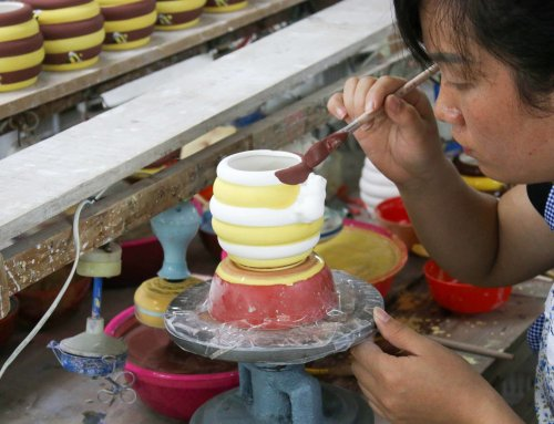 Simple Guidance For You In Ceramic Items Process- Part 3 Hand-painted, Glazing, and Firing